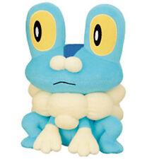 "Pokemon XY Super DX 9"" FROAKIE PLUSH TOY UFO Prize BW Banpresto Kalos Starter"