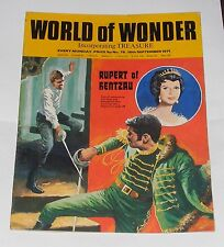 WORLD OF WONDER 18TH SEPTEMBER 1971 - TV IN 3D/ROGER BANNISTER/MUSICAL MENUHINS