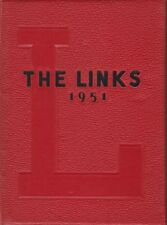 Lincoln High School Nebraska 1951 The Links  Yearbook Annual Year Book HS