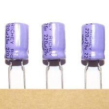Lot of 12 Electrolytic Capacitors 220uF 25V 105C