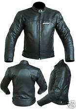 Motorbike Motorcycle LEATHER JACKET  3152-CE Armour