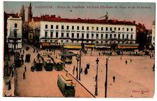 CPA 31 - TOULOUSE (Haute Garonne) - 30. Place du Capitole, clochers du Taur...