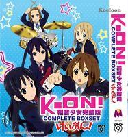 DVD Japan Anime K-ON! Complete Boxset Season 1+2 (VOL 1-36)+Movie +5 OVA Eng Sub