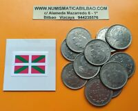 1 moneda x BILBAO 2 PESETAS 1937 Gobierno de Euzkadi KM#2 Nickel EUSKADI Ref/1
