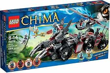 Lego Chima 70009 WORRIZ' COMBAT LAIR Wilhurt Worriz Wakz Windra Minifigures NISB
