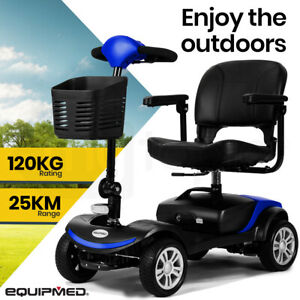 【EXTRA15%OFF】EQUIPMED Mobility Scooter Electric Motorised 4 Wheel Power