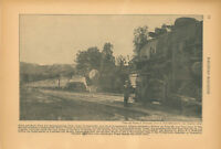 1940 Southern Pacific Railroad Daylight Flyer Passing 2-10-2 Chatsworth CA