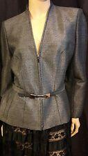 Veste gris argent scintillanteThierry Mugler T40/42