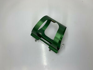 Ringle Components Water Bottle Cage Green Anodized Classic Road/Mountain Bike