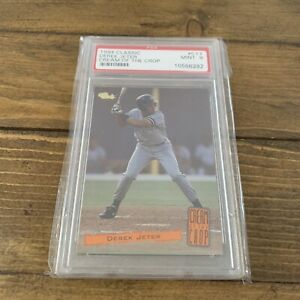 Derek Jeter 1994 Classic Cream of The Crop #C17Minor League Graded Card PSA 9