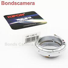 Kipon Contax Rangefinder RF Mount Nikon S Lens to Leica M39 L39 screw adapter