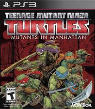 Teenage Mutant Ninja Turtles: Mutants in Manhattan Ps3 New PlayStation 3, Playst