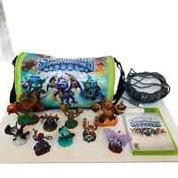 Xbox 360 Skylanders Giants Spyro's Adventure Portal of Power 9 Figurines Works