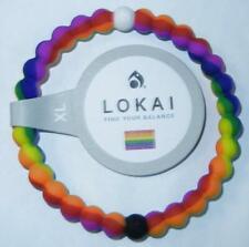 LOKAI Pride Rainbow XLarge XL Bracelet (Materials Mt Everest Dead Sea)