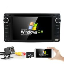 HIZPO Bluetooth Radio For Toyota Double 2Din In-Dash GPS Car DVD Player RDS