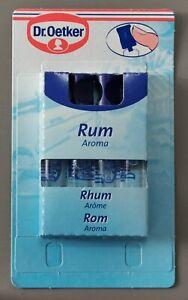 Dr. Oetker Rum Aroma, Essence (8 ml) Long Shelf Life, Alcohol Free