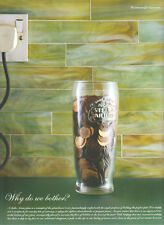 "Stella Artois Lager ""Why Do We Bother"" 2003 Magazine Advert #3060"