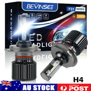 H4 LED Headlight Globes Hi/Low Beam Fit Citroen Berlingo 1999-2010 C2 2004-2008