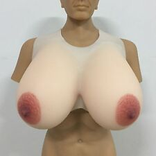 Big Nipple Large Silicone Breast Forms 15XL 9.5KG Huge CD Boobs TG Fake Bust