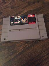 Super Nintendo SNES Super Star Wars Game Cart Tested Works Good SN1