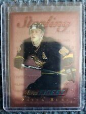 1996-97 Topps Finest STERLING Pavel Bure Vancouver Canucks Card #S30