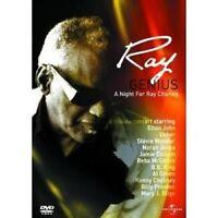 GENIUS-RAY CHARLES - DVD NEUWARE RAY CHARLES,MARY J.BLIGE,STEVIE WONDER