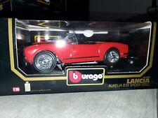 New Listing1955 Lancia Aurelia B24 Spider, 1:18 Scale by Burago, see description