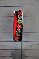 a2678b4df5da NEW GUESS Strap Attack Floral Bag Purse Strap Black Multi Neon NWT