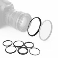 46mm-52mm Step Up Ring 46-52 DSLR Camera / 46mm Lens to 52mm Filter Cap Hood