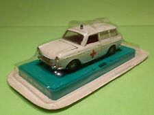 MARKLIN 1809 VW VARIANT 1600 - AMBULANCE 1:43 -RARE SELTEN- NEAR MINT IN BLISTER