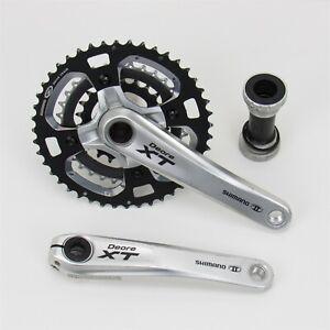 Shimano Deore XT FC-M770 Crank Set, 3x9 Speed, 175mm, Hollowtech II