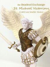 👼 Bradford Exchange Archangel St. Michael Victorious Cold-Cast Marble Sculpture