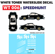 WT006 White Toner Waterslide Decals > SPEEDHUNT >For Custom 1:64 Hot Wheels