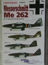 1/48 Cutting Edge MESSERSCHMITT Me 262 #2 *4 aircraft Nowotony, JV 44 rare OOP