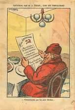 Caricature Anti-Communiste Bolchevik Front Populaire France 1937 ILLUSTRATION