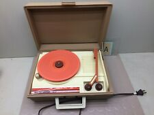 Vintage DeJay Vinyl Portable Record Player