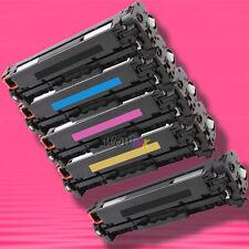 5P Non-OEM Alternative TONER for HP CC530A-CC533A 304A LaserJet CP2025n CM2320n