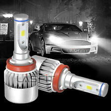 H11 H9 H8 LED Headlight Kit Low Beam Bulbs 72W 6000K White Replace Halogen Lamp