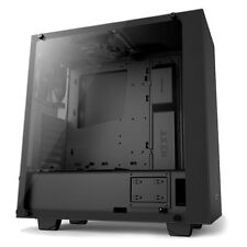 NZXT SOURCE 340 ELITE GAMING MIDI PC TOWER CASE & GLASS SIDE PANEL - VR READY