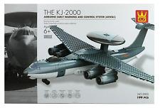 KJ-2000 Airborne Warning & Control System Plane Building Blocks Bricks-Wange