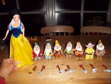 Disney Simba Snow White and the Seven Dwarves dolls, toys