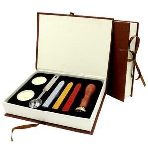 Vintage Wax Badge Seal Stamp Wax Tool Set For Harry Badge School L8K8 U9Z2