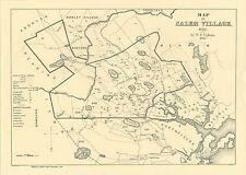 A3 Affiche - Salem,Massachusetts Sorcière Trial Carte - 17th Siècle ( Image