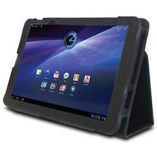 FoldBack Magnetic Stand Leather Case Cover for Toshiba Thrive AT105-T108 Tablet