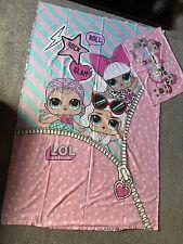 Girls Lol Surprise Dolls Single Duvet Quilt Bed Cover