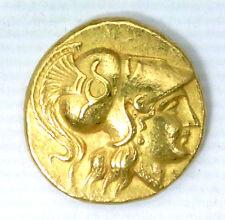 MACEDOINE - STATERE D'OR D'ALEXANDRE III (336-323 AV JC) MESEMBRIA