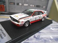 AUDI Quattro Rallye Demuth DRM Hunsrück 1985 SIV lim: 1/150 Scala43 Trofeu 1:43