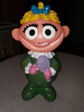 Vtg Sesame Street Little Girl Muppet Soft Soap Character Bottle Bath toy