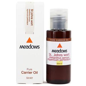 St. John's Wort & Sunflower Carrier Oil (Meadows Aroma) 50ml