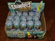 Retail Box of 30 Grumblies Miniacs Series 1 Blind Pods Free Shipping